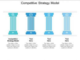 Competitive Strategy Model Ppt Powerpoint Presentation Visual Aids Files Cpb