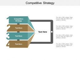 Competitive Strategy Ppt Powerpoint Presentation File Portrait Cpb