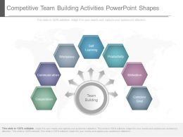 Competitive Team Building Activities Powerpoint Shapes