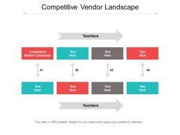 Competitive Vendor Landscape Ppt Powerpoint Presentation Diagram Lists Cpb