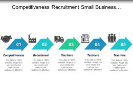Competitiveness Recruitment Small Business Business Tactics Business Level Strategy Cpb
