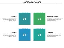 Competitor Alerts Ppt Powerpoint Presentation Pictures Information Cpb