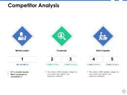 Competitor Analysis Big Data Ppt Powerpoint Presentation File