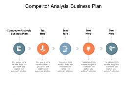 Competitor Analysis Business Plan Ppt Powerpoint Presentation Model Graphics Download Cpb