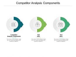 Competitor Analysis Components Ppt Powerpoint Presentation File Format Cpb