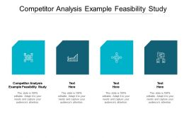 Competitor Analysis Example Feasibility Study Ppt Inspiration Graphics Example Cpb