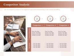 Competitor Analysis Information Ppt Powerpoint Presentation Styles Graphic Tips