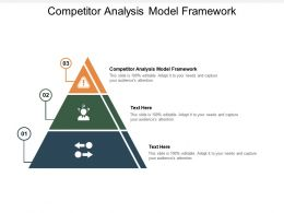 Competitor Analysis Model Framework Ppt Powerpoint Presentation Infographic Template Cpb