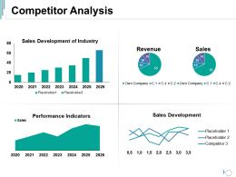 Competitor Analysis Ppt Graphics