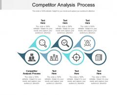 Competitor Analysis Process Ppt Powerpoint Presentation Model Portrait Cpb