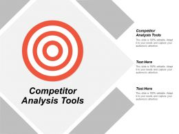 Competitor Analysis Tools Ppt Powerpoint Presentation File Visual Aids Cpb