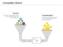 Competitor Brand Ppt Powerpoint Presentation Styles Background Image Cpb