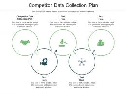 Competitor Data Collection Plan Ppt Powerpoint Presentation Infographics Styles Cpb