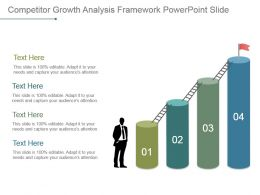 Competitor Growth Analysis Framework Powerpoint Slide
