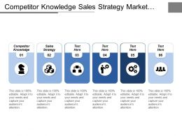 Competitor Knowledge Sales Strategy Market Segmentation Sales Messaging