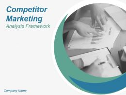 Competitor Marketing Analysis Framework Powerpoint Presentation Slides
