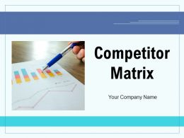 Competitor Matrix Performance Service Analysis Value Social Media Demographic