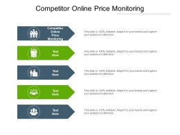 Competitor Online Price Monitoring Ppt Powerpoint Presentation Summary Show Cpb