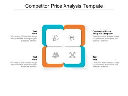 Competitor Price Analysis Template Ppt Powerpoint Infographic Template Rules Cpb