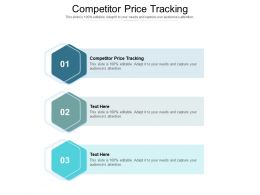 Competitor Price Tracking Ppt Powerpoint Presentation Professional Graphic Images Cpb
