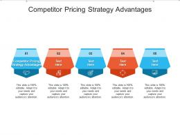 Competitor Pricing Strategy Advantages Ppt Powerpoint Presentation Gallery Mockup Cpb