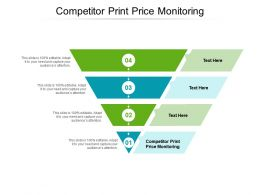Competitor Print Price Monitoring Ppt Powerpoint Presentation Model Guide Cpb