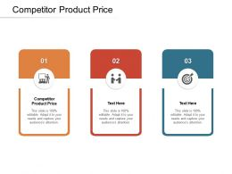 Competitor Product Price Ppt Powerpoint Presentation Pictures Slide Portrait Cpb