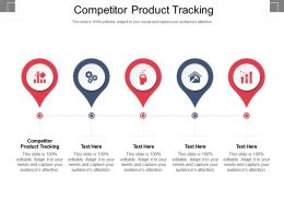 Competitor Product Tracking Ppt Powerpoint Presentation Icon Summary Cpb