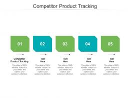 Competitor Product Tracking Ppt Powerpoint Presentation Summary Shapes Cpb