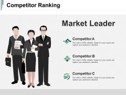 Competitor Ranking Ppt Sample Download