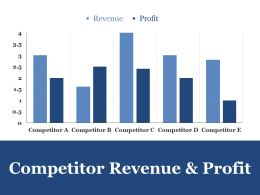 Competitor Revenue And Profit Ppt File Graphics Example