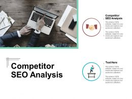 Competitor Seo Analysis Ppt Powerpoint Presentation Gallery Introduction Cpb