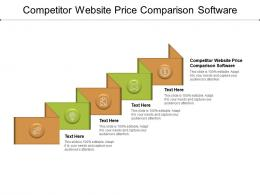 Competitor Website Price Comparison Software Ppt Powerpoint Presentation Styles Summary Cpb