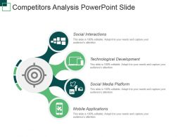 Competitors Analysis Powerpoint Slide