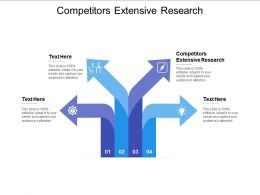 Competitors Extensive Research Ppt Powerpoint Presentation File Design Ideas Cpb