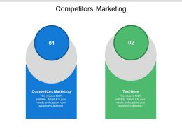Competitors Marketing Ppt Powerpoint Presentation Icon Cpb