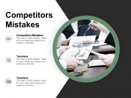 Competitors Mistakes Ppt Powerpoint Presentation Pictures Layout Cpb