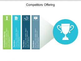 Competitors Offering Ppt Powerpoint Presentation File Shapes Cpb