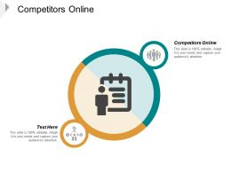 Competitors Online Ppt Powerpoint Presentation Ideas Vector Cpb