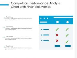 Competitors Performance Analysis Chart With Financial Metrics