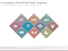 Competitors Powerpoint Slide Graphics