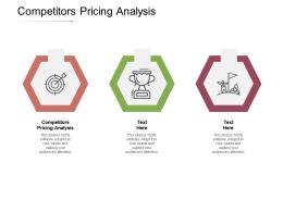 Competitors Pricing Analysis Ppt Powerpoint Presentation Portfolio Shapes Cpb