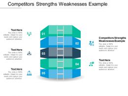 Competitors Strengths Weaknesses Example Ppt Powerpoint Presentation Slides Cpb