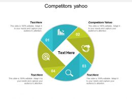 Competitors Yahoo Kids Ppt Powerpoint Presentation File Background Designs Cpb