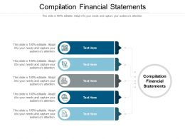 Compilation Financial Statements Ppt Powerpoint Presentation Gallery Brochure Cpb