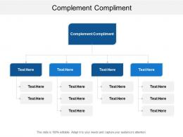 Complement Compliment Ppt Powerpoint Presentation Model Slideshow Cpb