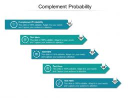 Complement Probability Ppt Powerpoint Presentation Infographic Template Objects Cpb