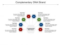 Complementary DNA Strand Ppt Powerpoint Presentation Gallery Graphics Cpb
