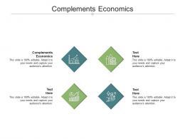 Complements Economics Ppt Powerpoint Presentation File Master Slide Cpb