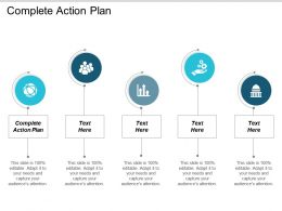 Complete Action Plan Ppt Powerpoint Presentation Gallery File Formats Cpb
